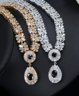 CZ Crystal Necklace