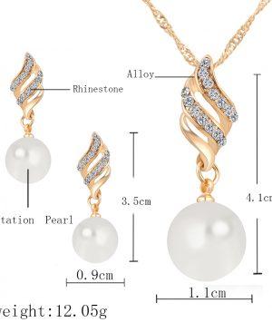 Necklace Earrings Jewelry Sets