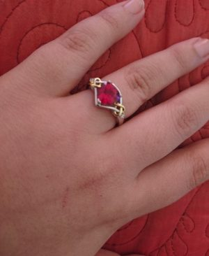 Anniversary Promise Ring
