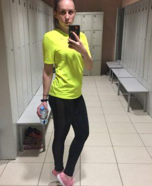 slim black legging
