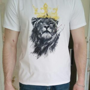 Lion Printed T-shirt