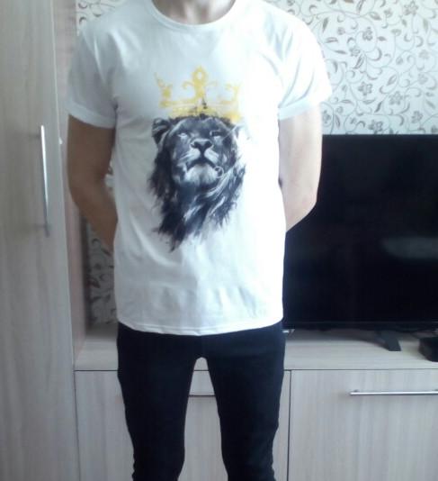 Lion Printed T-shirt
