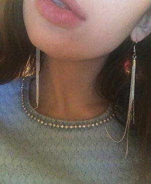 Long Earrings Silver