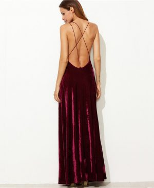 Maxi Backless Dress