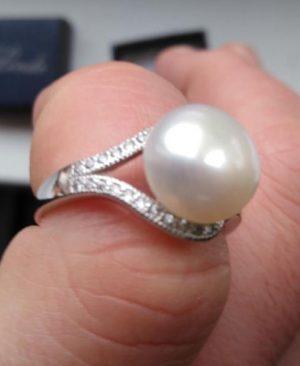 Pearl Ring Jewelry