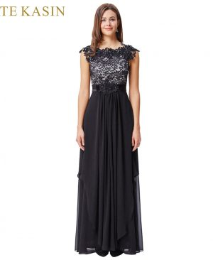 Black Lace Evening Dresses