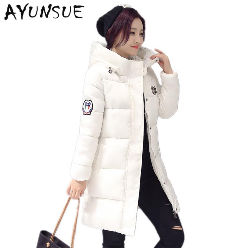 30691852f Long Parkas Female Winter Coat