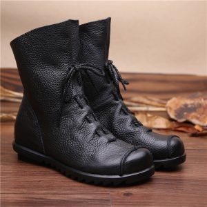 Genuine Leather Women Boots