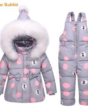 Winter children clothing