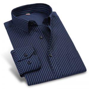 Striped Men Dress Shirts