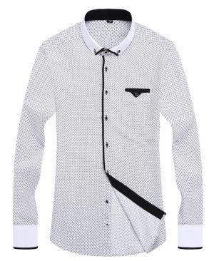 Long Sleeved Printed Shirt