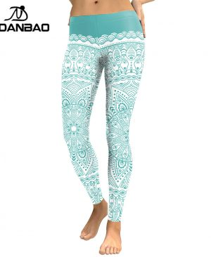 Women Leggings Aztec