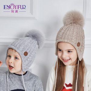 Knitted Ears Beanie