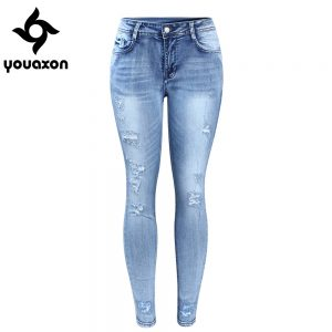 Classic Distressed Jeans