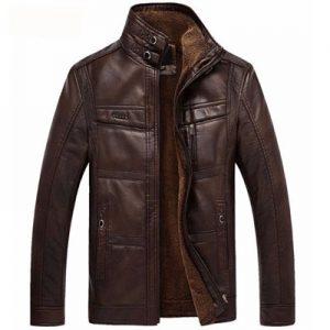 Leather Jacket Men