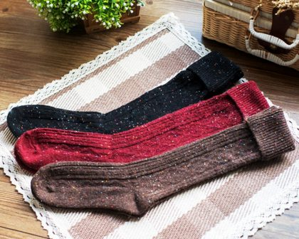 Wool Blended Socks
