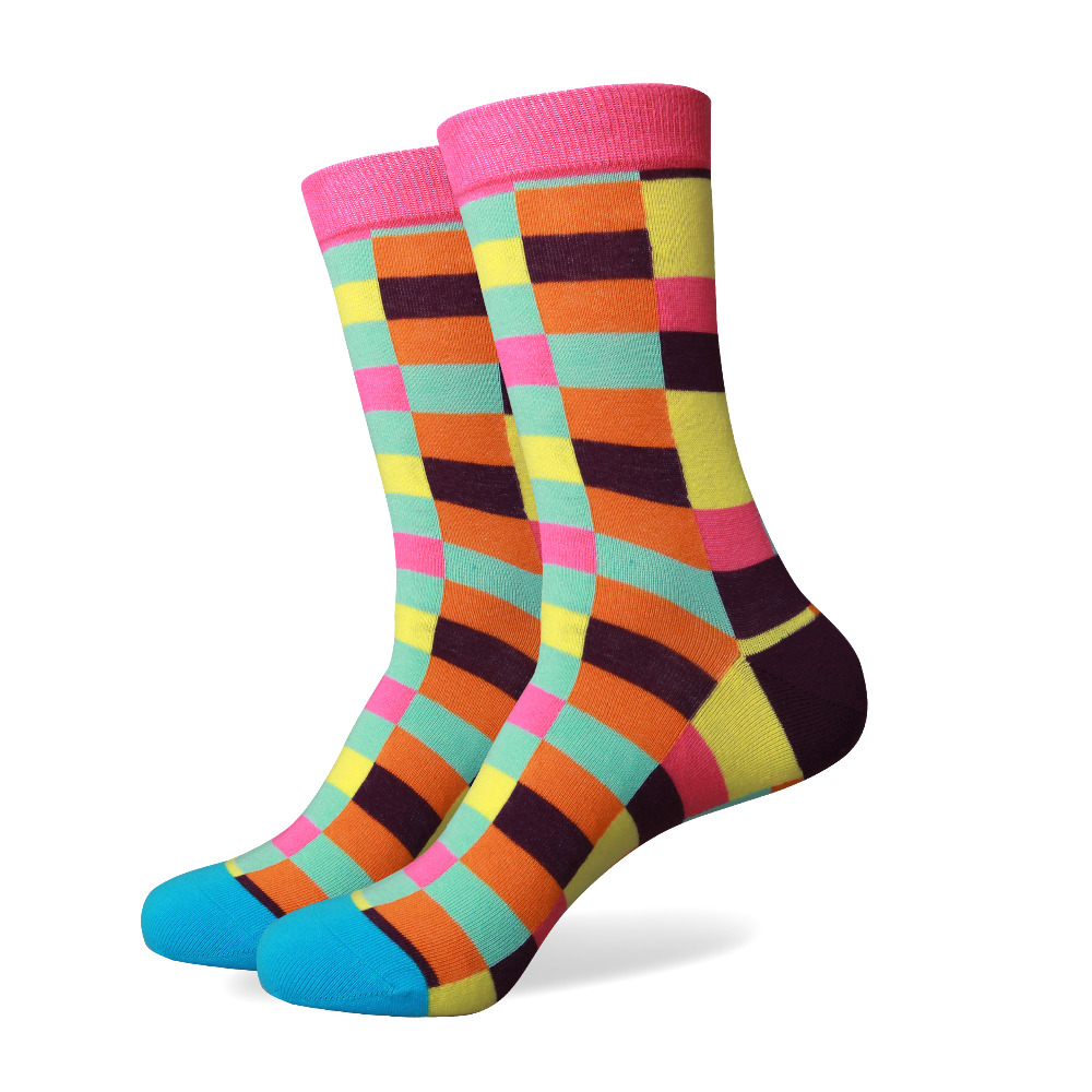 5 pairs men socks colorful dress socks lalbugcom