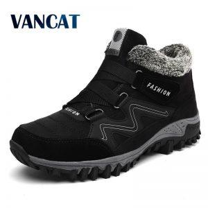 Warm Snow Boots Men