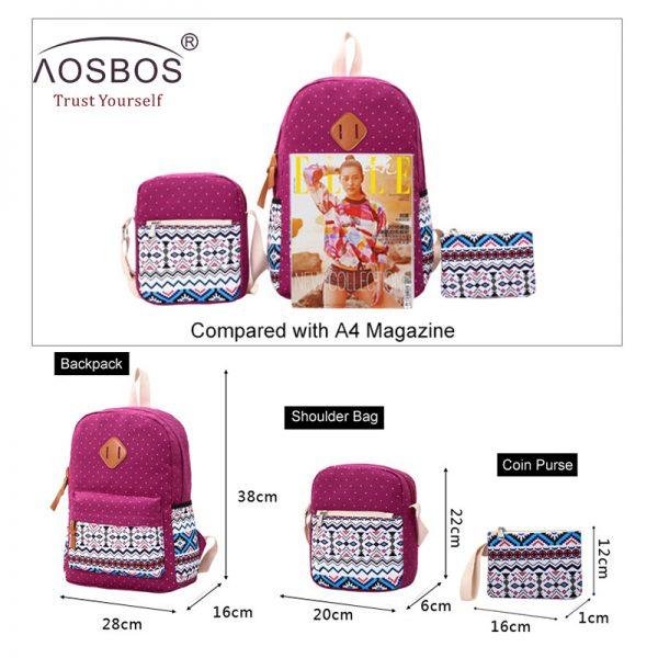 Canvas School Bags