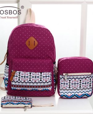 Canvas School Bags