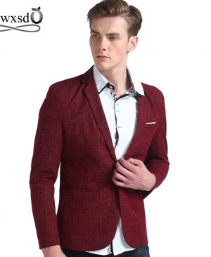 Men casual blazer suit