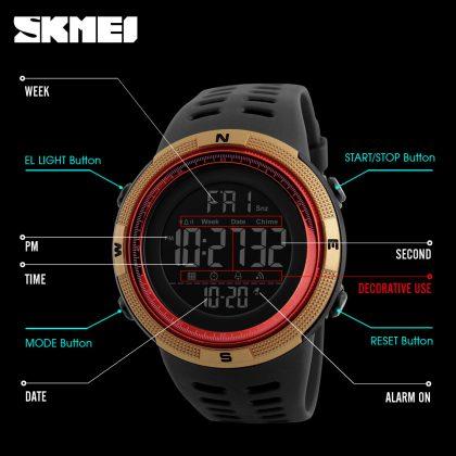 Waterproof Digital Watch