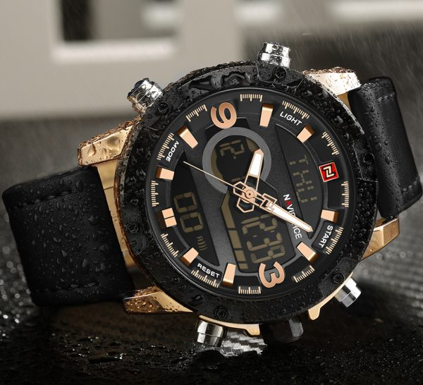 Leather Sports Watches