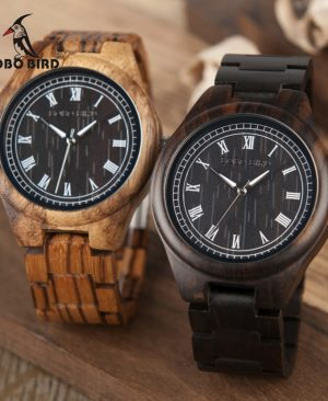 Zebra Wooden Watches