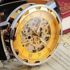 Skeleton hollow watches