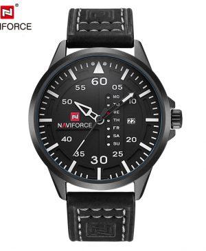 Leather Business Quartz-Watch