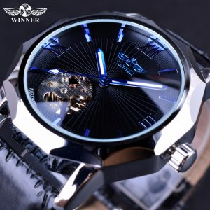 Skeleton Dial Men Watch