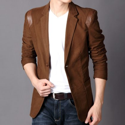 Casual Slim Fit Blazer