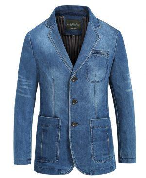 Jeans Blazer Men