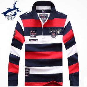 Men Stripe Pullover