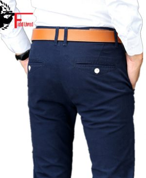 Elastic Casual Pants