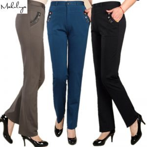 Fabric women trousers