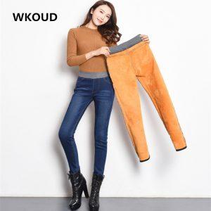 Warm Denim Pants