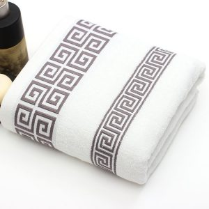 bathroom bath towels