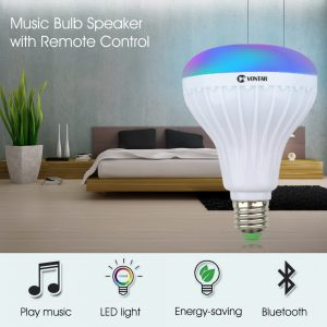 Wireless Bluetooth Speaker Bulb LED Lamp