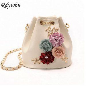 Flowers Bucket Bags
