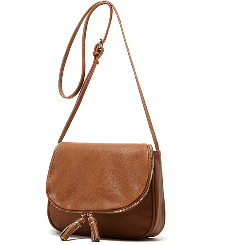 Tassel Women Bag Leather Handbags