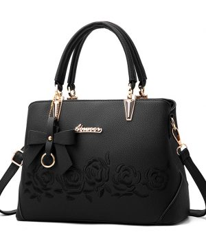 Rose Printing Handbag