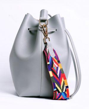 Strap Bucket Bag