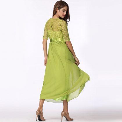 Women Lace Dress Long Gown Party Dresses - Lalbug.com