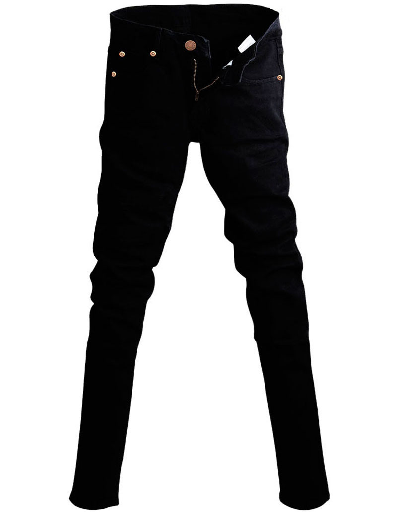 Slim Fit Jeans Punk Cool Super Skinny Pants - Lalbug.com