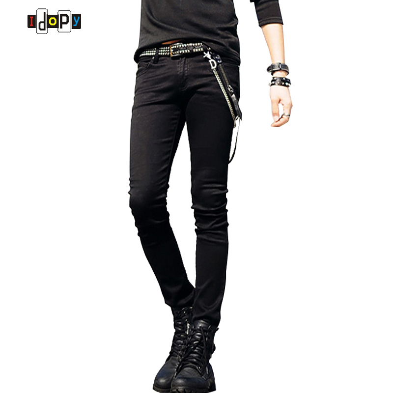 06b0a4effd8 Slim Fit Jeans Punk Cool Super Skinny Pants - Lalbug.com
