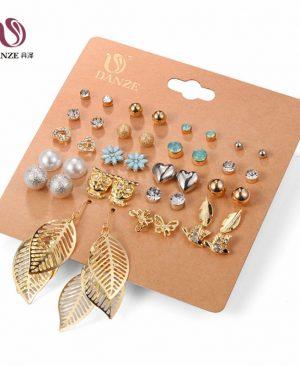 Mixed Stud Earrings