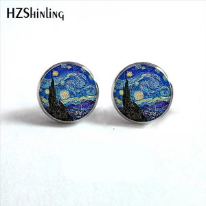 Painting Stud Earrings