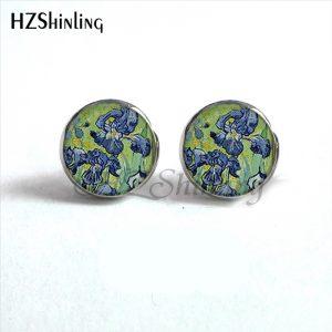 Painting Stud Earrings