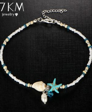 Beads Starfish Anklets